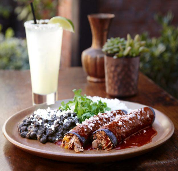 Blue Corn Enchilada